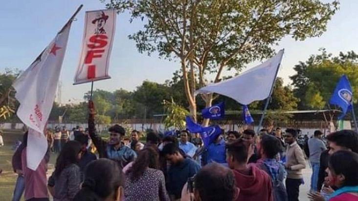 گجرات سنٹرل یونیورسٹی اسٹوڈنٹس کونسل الیکشن میں اے بی وی پی کی شرمناک شکست