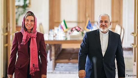 ایران امریکا فوجی کشیدگی، یورپ مخمصے میں