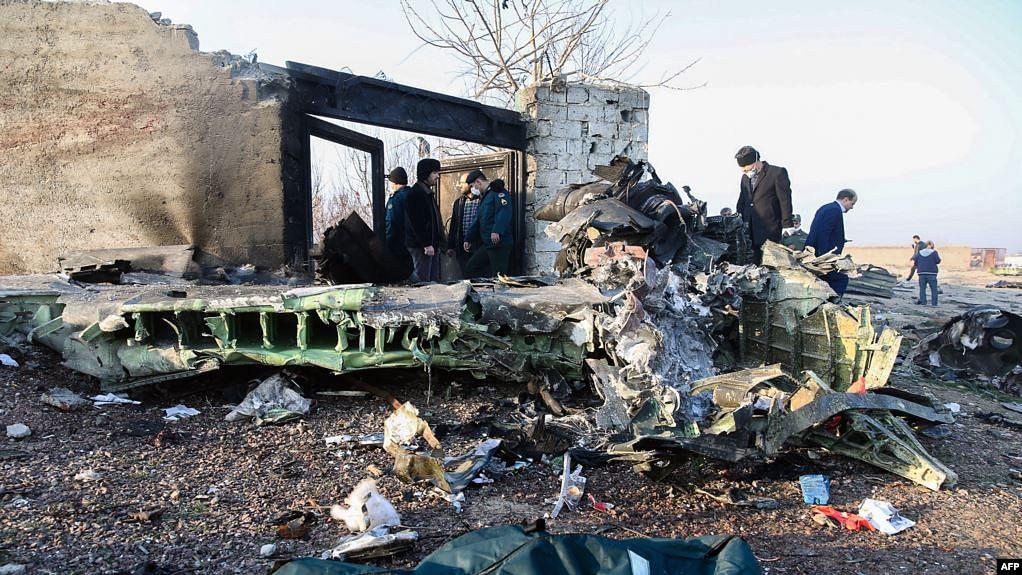 ایران میں یوکرین کا طیارہ گر کر تباہ، سبھی 176 مسافر ہلاک