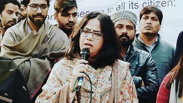 جامعہ-جے این یو طلباء کے سامنے میری تکلیف کچھ بھی نہیں، شاہین باغ دھرنے سے صدف جعفر کا بیان
