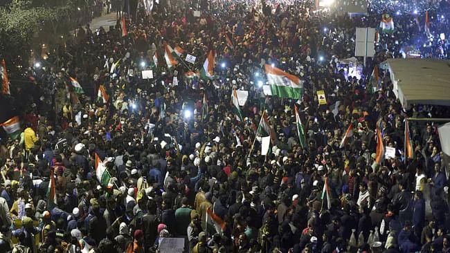 شاہین باغ میں لوگوں کا جم غفیر، کیرتن اور ہون کے ذریعہ کیا قومی یکجہتی کا مظاہرہ