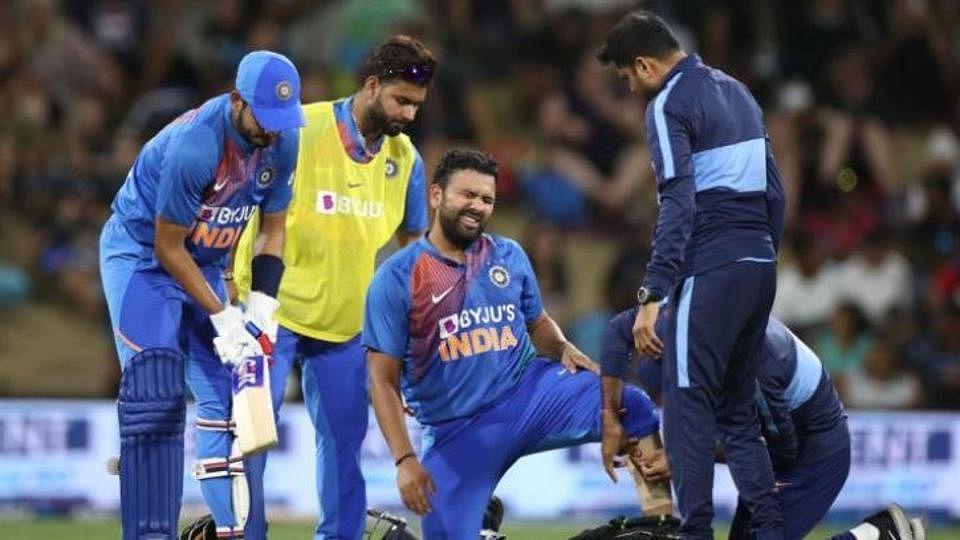 کرکٹ: ہندوستانی ٹیم کے لیے بری خبر، روہت شرما نیوزی لینڈ دورہ سے باہر