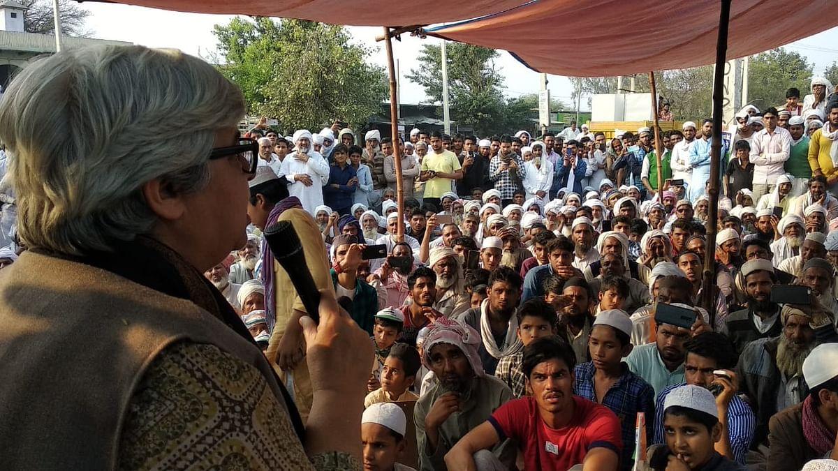 میوات میں مودی حکومت پر شبنم ہاشمی کا حملہ، کہا 'آزادی جیسی ہماری عظیم نعمت چھیننا چاہتی ہے'
