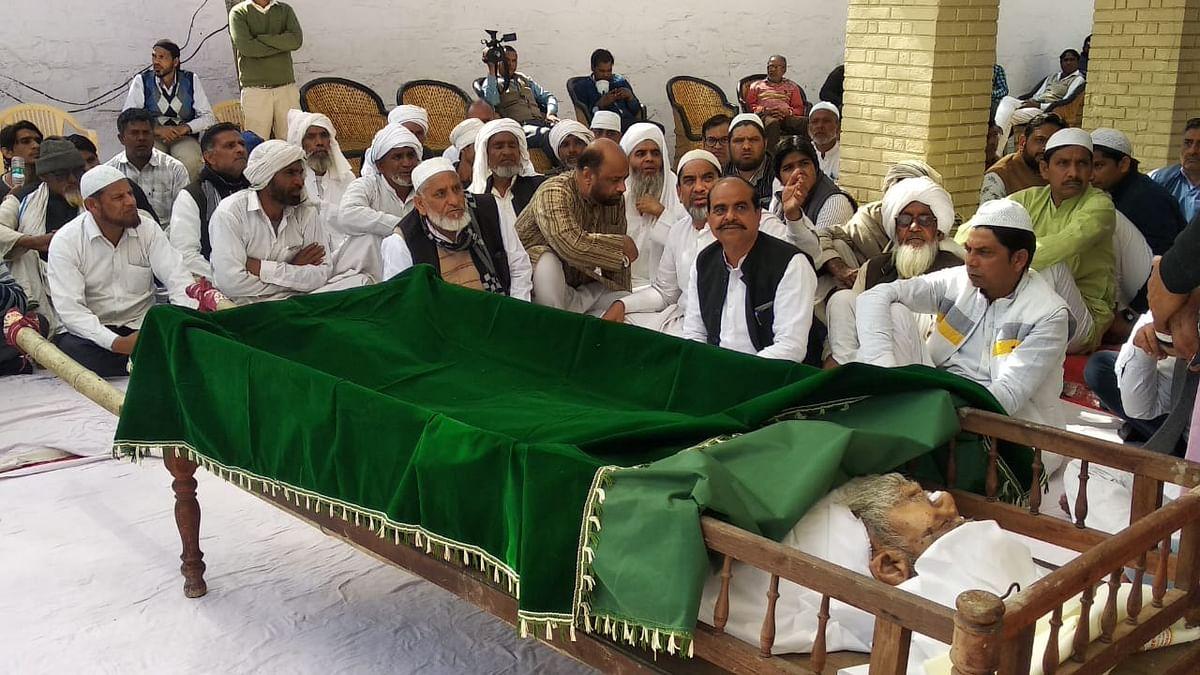 سابق رکن پارلیمنٹ چوہدری خورشید احمد میو کا انتقال، جنازے میں امنڈی بھیڑ