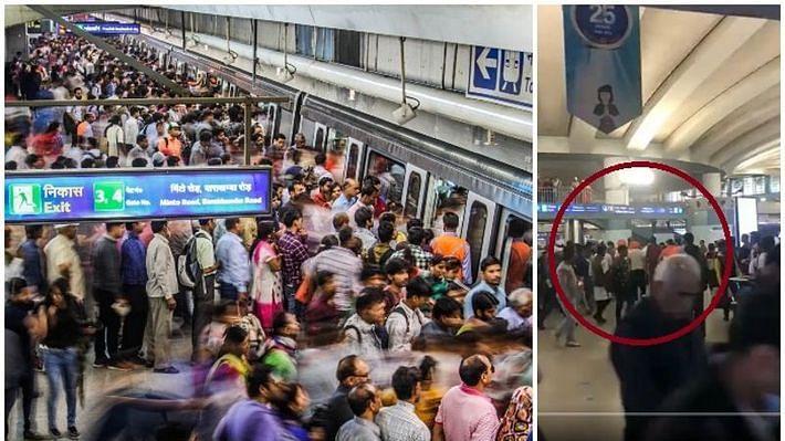 راجیو چوک میٹرو اسٹیشن پر 'گولی مارو...' کے نعرے، سی اے اے کے 6 حامی حراست میں