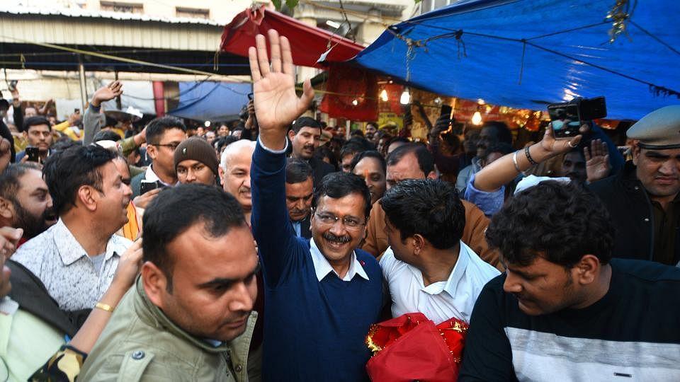 دہلی کے عوام کو کیجریوال کی حلف برداری تقریب میں شامل ہونے کی دعوت