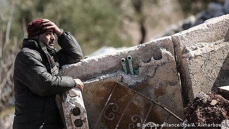 ادلب: ایک زخمی، سسکتا شامی صوبہ جسے دنیا نے بھلا دیا