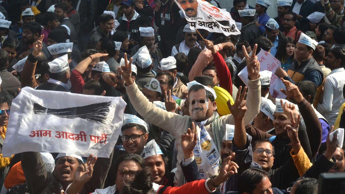 تاریخی جیت کے ساتھ دہلی پر عام آدمی پارٹی کا قبضہ برقرار