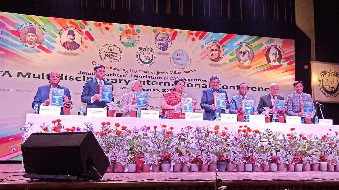 جامعہ ملیہ اسلامیہ کی صد سالہ تقریبات، سہ روزہ بین الاقوامی کانفرنس کا افتتاح