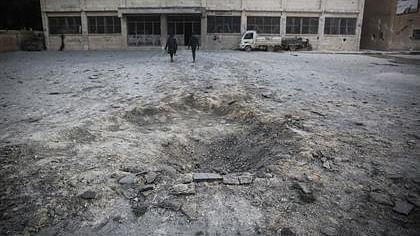 شام میں فوجی اسکول پر بمباری، اساتذہ اور بچوں سمیت 20 افراد ہلاک