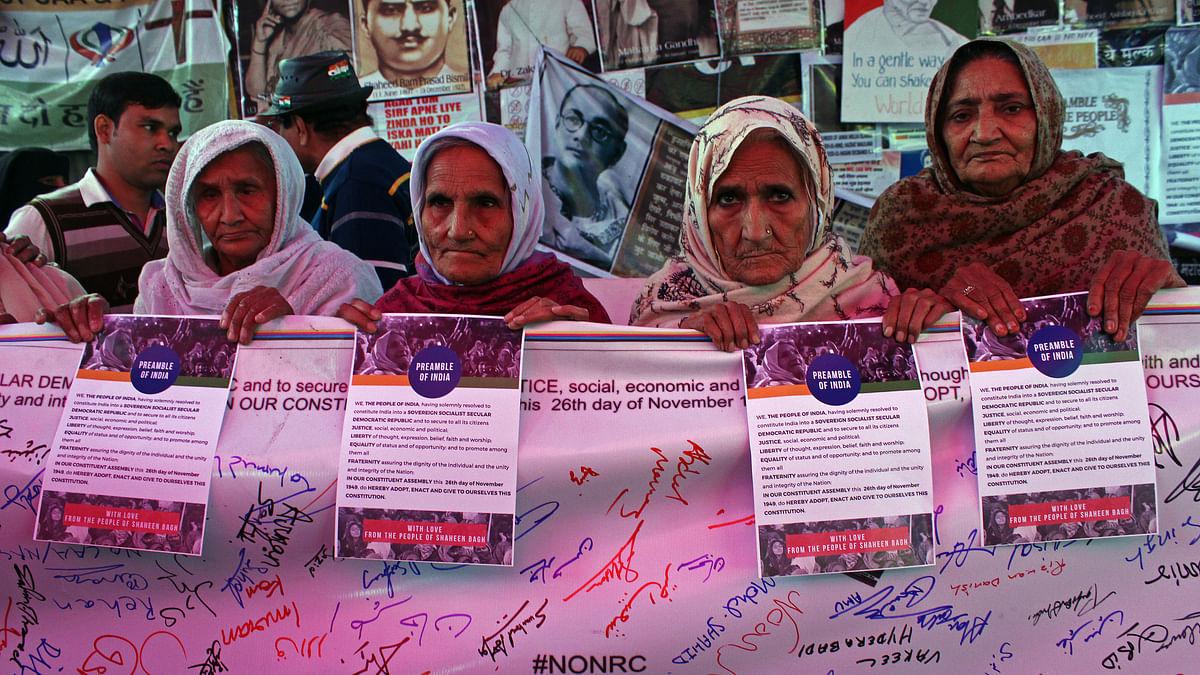 شاہین باغ: 'حکومت  کو روڈ کی فکر بہت ہے، دھرنے پر بیٹھی خاتون مظاہرین کی نہیں'
