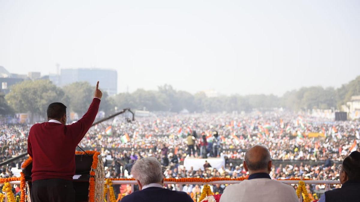 دہلی کی ترقی کے لئے کیجریوال نے وزیراعظم مودی سے مانگا آشیرواد
