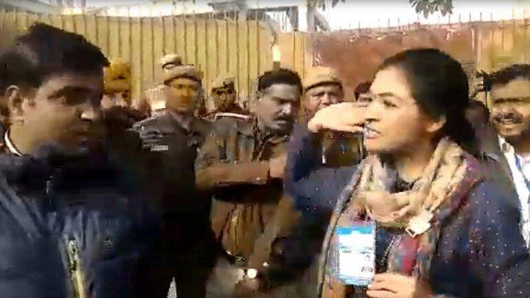 دہلی: الکا لامبا پر عآپ کارکن کا نازیبا تبصرہ، ملزم گرفتار