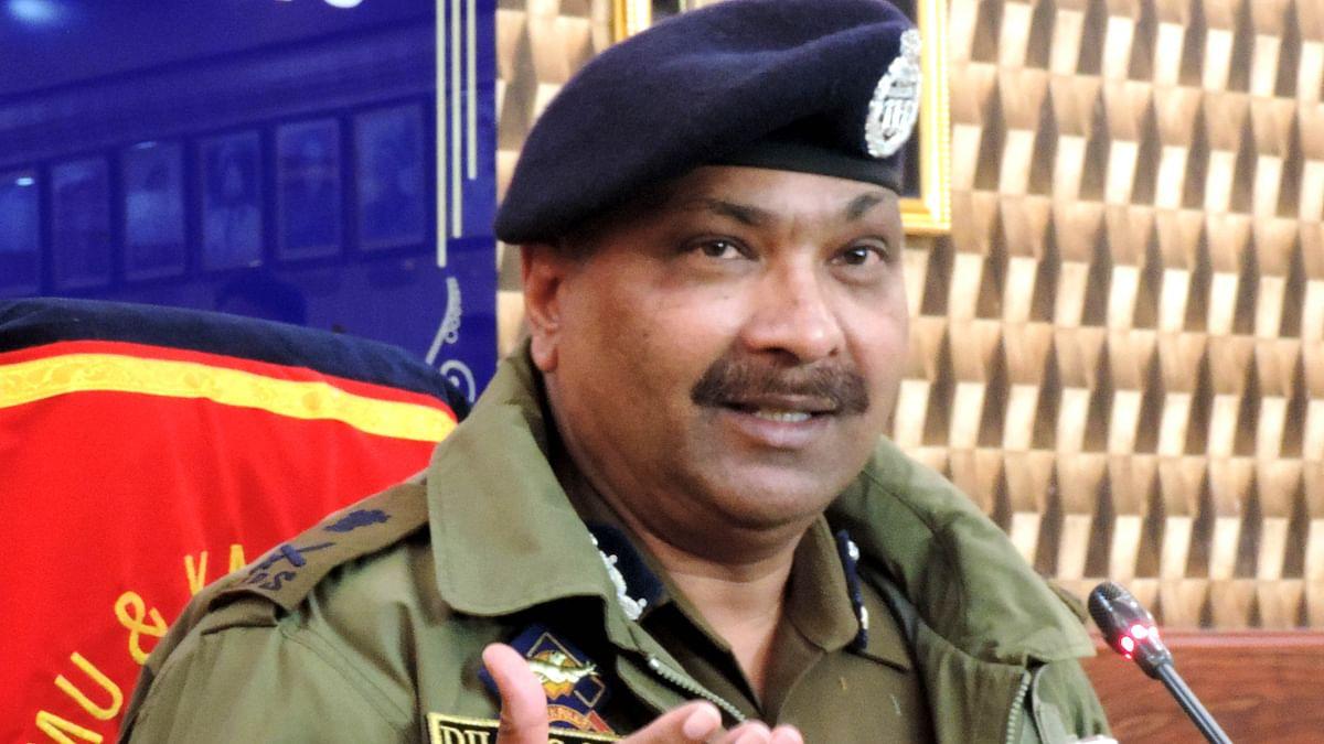 جموں و کشمیر کے پولیس سربراہ دلباغ سنگھ