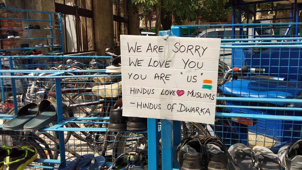 دوارکا مسجد پتھراؤ معاملہ پر مقامی ہندوؤں نے کہا 'ہم مسلمانوں سے محبت کرتے ہیں'