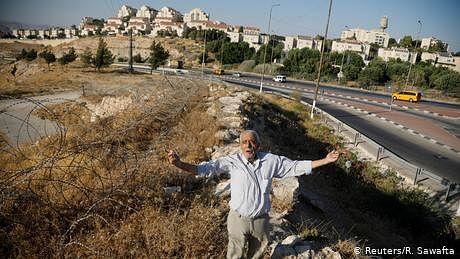 فلسطینیوں کو زیر زمین سڑک کی تعمیر کی اجازت