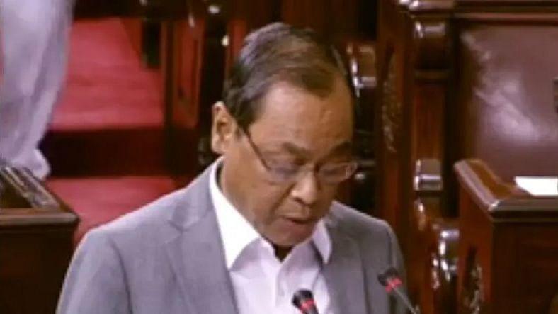 'شرم کرو، شرم کرو' نعرہ کے درمیان رنجن گگوئی نے راجیہ سبھا رکن کا لیا حلف