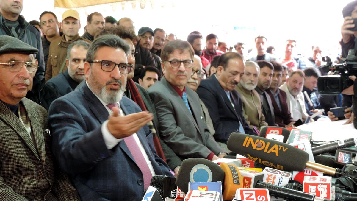 الطاف بخاری کی 'جموں کشمیر اپنی پارٹی' لانچ، جماعت کا منشور ترقی قرار دیا