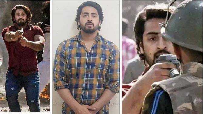 دہلی تشدد کے دوران برسرعام فائرنگ کرنے والا شاہ رخ یو پی سے گرفتار