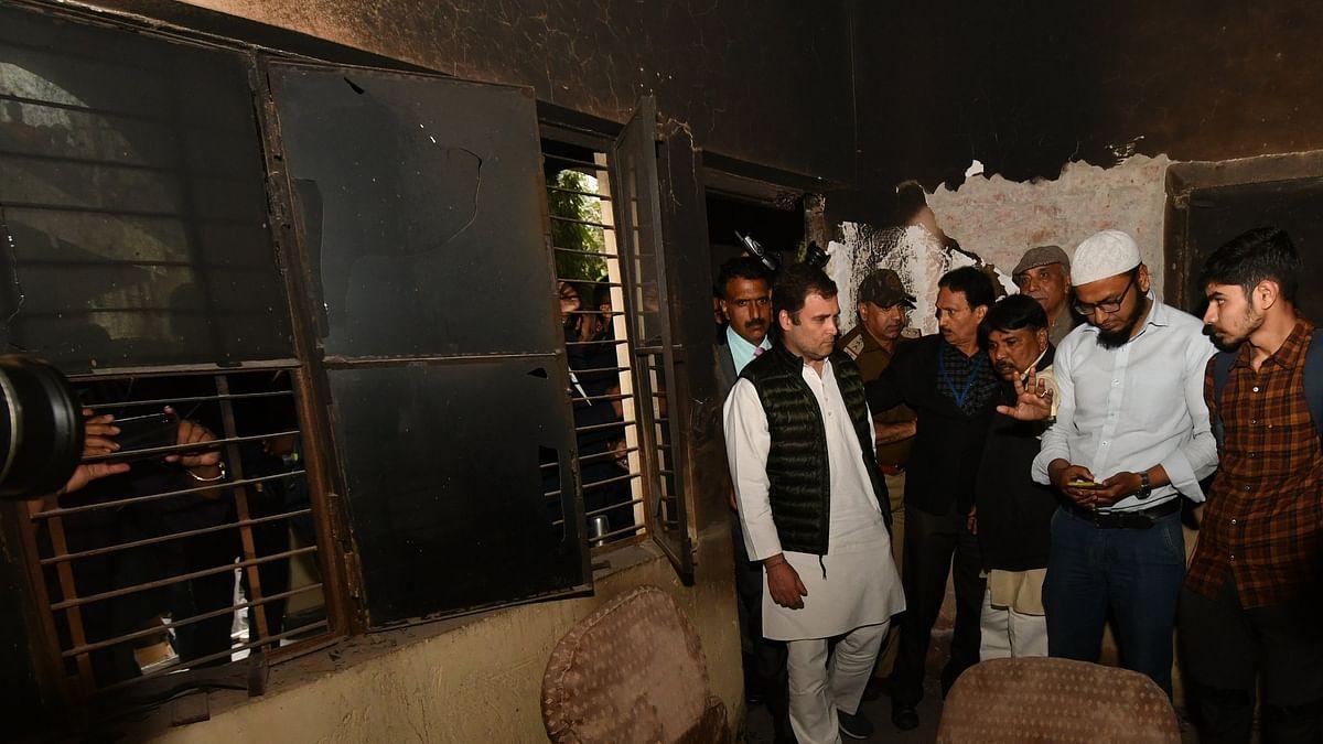 اہم خبریں: فسادیوں نے ہندوستان کا 'مستقبل' تباہ کر دیا، راہل گاندھی