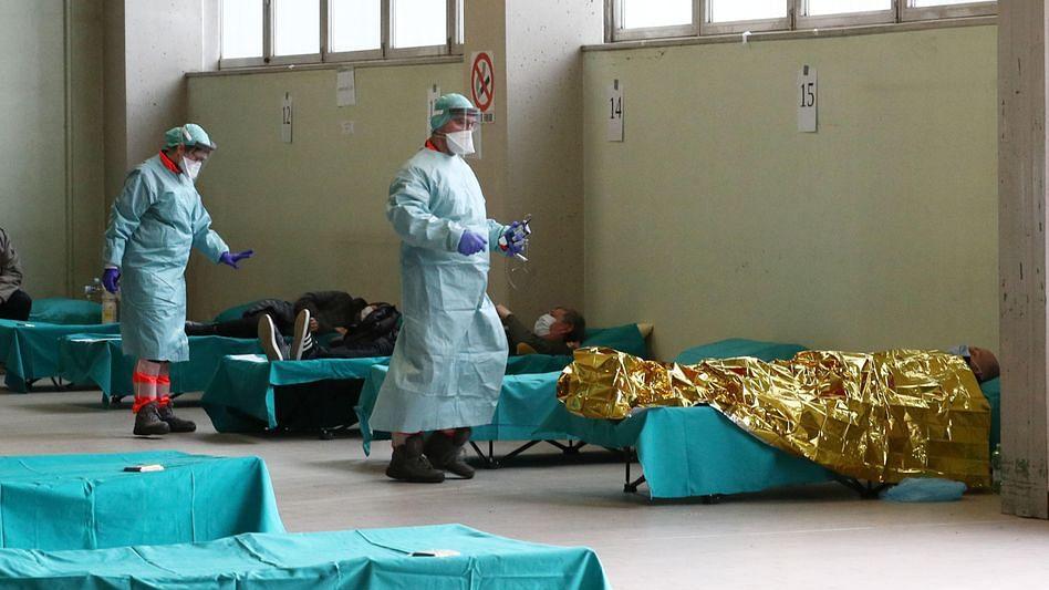 کورونا وائرس: امریکہ میں پہلی بار ایک دن میں 300  اموات