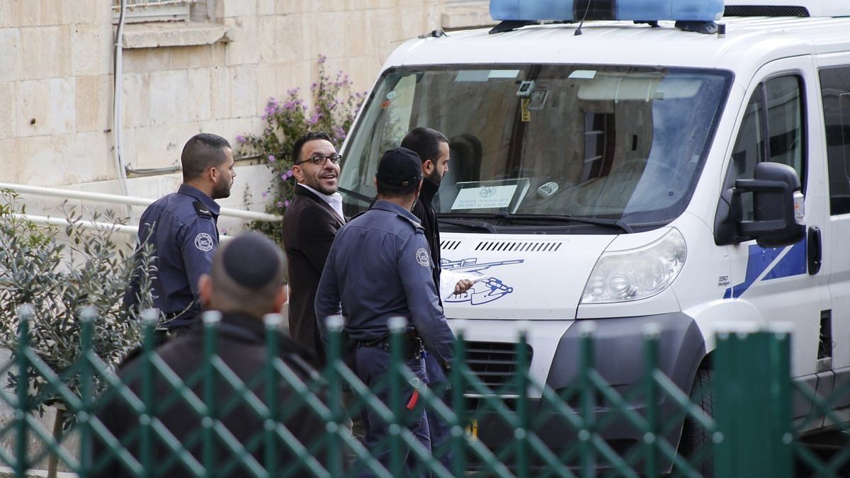 یروشلم کا فلسطینی گورنر اٹھارہ ماہ میں ساتویں مرتبہ گرفتار