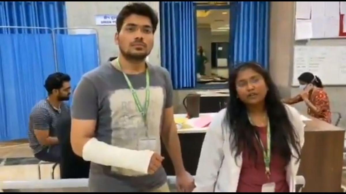لاک ڈاؤن: ایمس کے 2 جونیئر ڈاکٹروں کو بھوپال پولس نے پیٹا، تھانہ میں شکایت درج