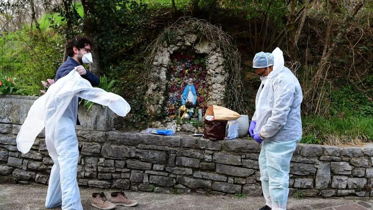 اطالیہ اور ہسپانیہ میں کورونا وائرس سے دو مہینے میں 24000 لوگوں کی موت