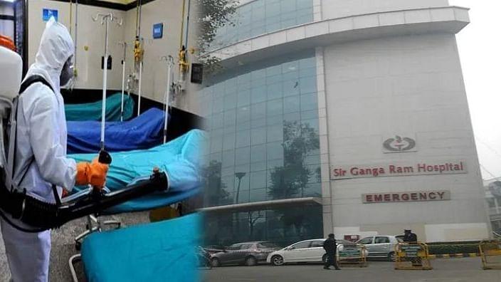 گنگا رام اسپتال میں 2 کورونا پازیٹو مریض ملنے کے بعد 108 میڈیکل اسٹاف کوارنٹائن
