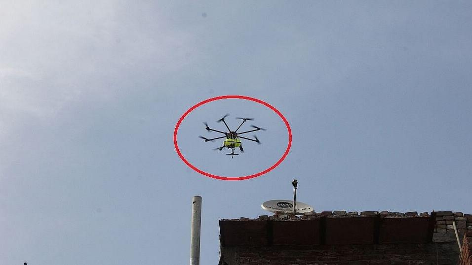 کورونا: بہار کے 'ہاٹ اسپاٹ' سیوان میں ہائی الرٹ، ڈرون سے ہو رہی مانیٹرنگ