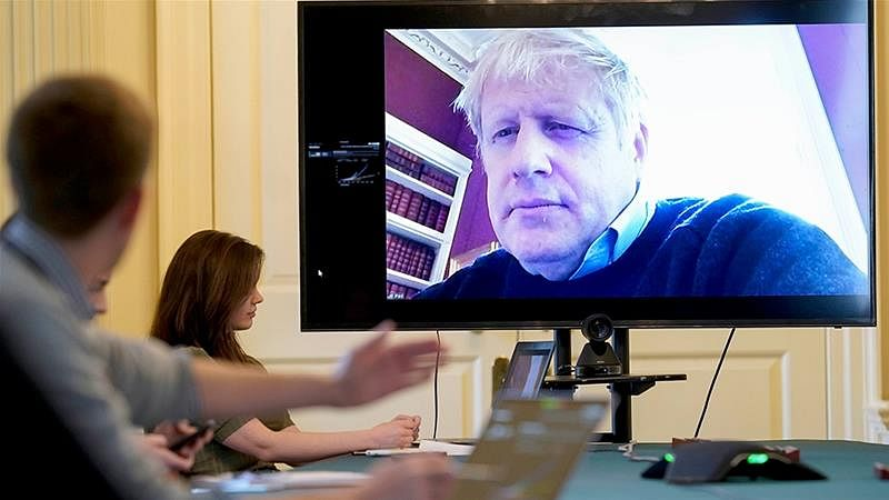 برطانوی وزیر اعظم بورس جانسن کی حالت تشویشناک،آئی سی یو میں منتقل
