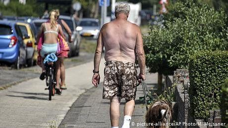 یورپ میں گرمی، کورونا کا بحران گہرا کر سکتی ہے