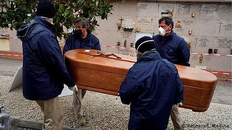 اسپین کورونا کے ایک لاکھ سے زائد مریضوں والا تیسرا ملک بن گیا