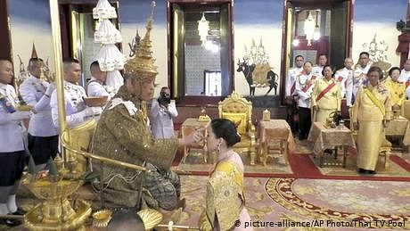 تھائی لینڈ میں کورونا ایمرجنسی لیکن بادشاہ جرمنی میں