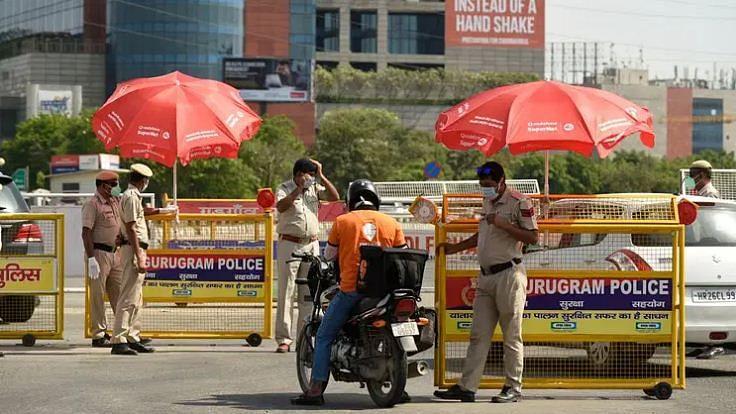 آج سے ہریانہ حکومت نے کیا دہلی سے ملحق تمام سرحدیں سیل کرنے کا فیصلہ