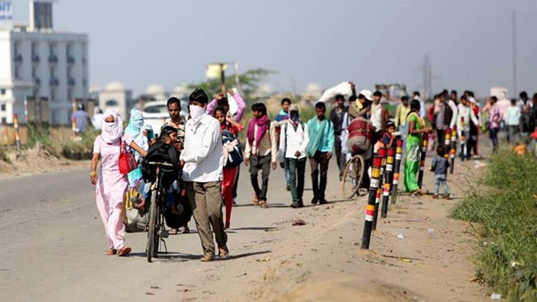 دھرمشالہ میں قیام پذیر مزدوروں کا کھانا کھانے سے انکار