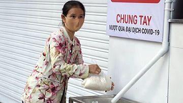 لاک ڈاؤن میں غریبوں کے لیے نعمت ثابت ہو رہا 'چاول کا اے ٹی ایم'