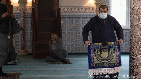 جرمنی میں ہفتے کے روز سے مساجد دوبارہ کھل جائيں گی