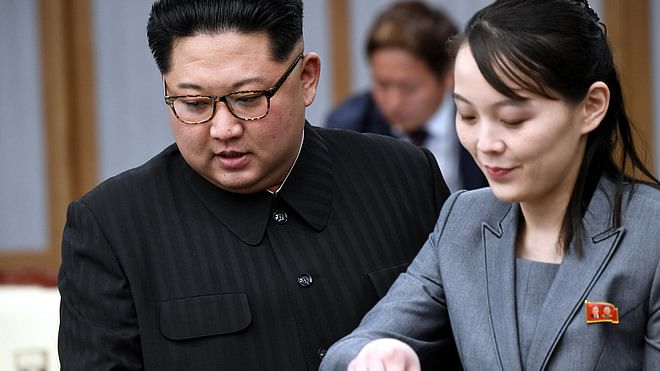 شمالی کوریا ، کم یو جونگ اپنے بھائی کی ممکنہ جانشیں