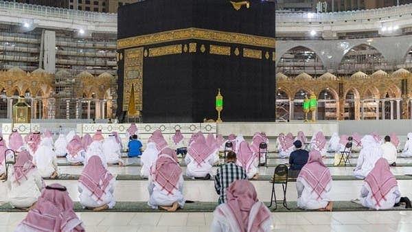 کورونا وائرس کے سائے میں مسجد حرام میں ختم قرآن