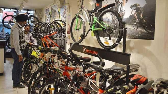 کورونا کے سبب سائیکل انڈسٹری کو 350 کروڑ روپئے کا جھٹکا