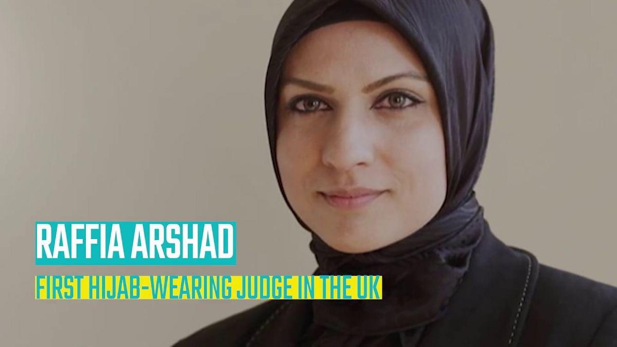 حجاب ترقی کی راہ میں  کوئی رکاوٹ نہیں:نئی ڈپٹی ڈسٹرکٹ جج رفیعہ ارشد  کابیان