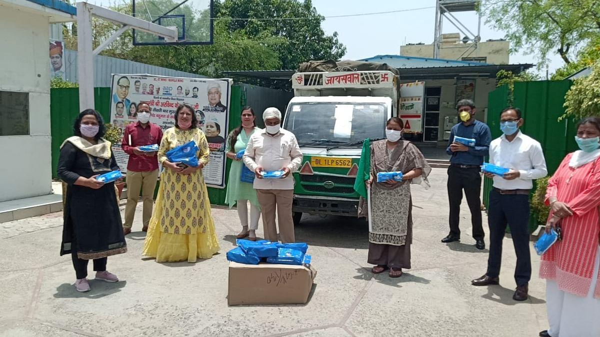 دہلی: وزیر برائے ترقی خواتین و اطفال راجیندر پال نے شروع کی 'ماہواری صفائی مہم'