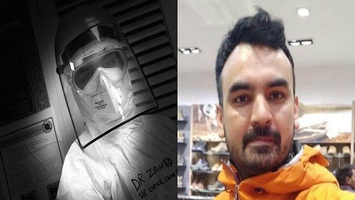 دہلی: ایمس کے ڈاکٹر زاہد نے اپنی جان جوکھم میں ڈال بچائی کورونا مریض کی جان