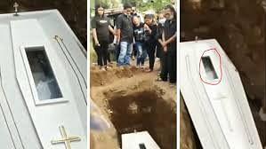 انڈونیشیا: تدفین کے بعد ویڈیو میں مُردے کو زندہ پایا گیا !