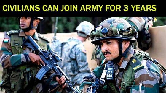 وطن سے محبت ہے تو فوجی وردی پہنو