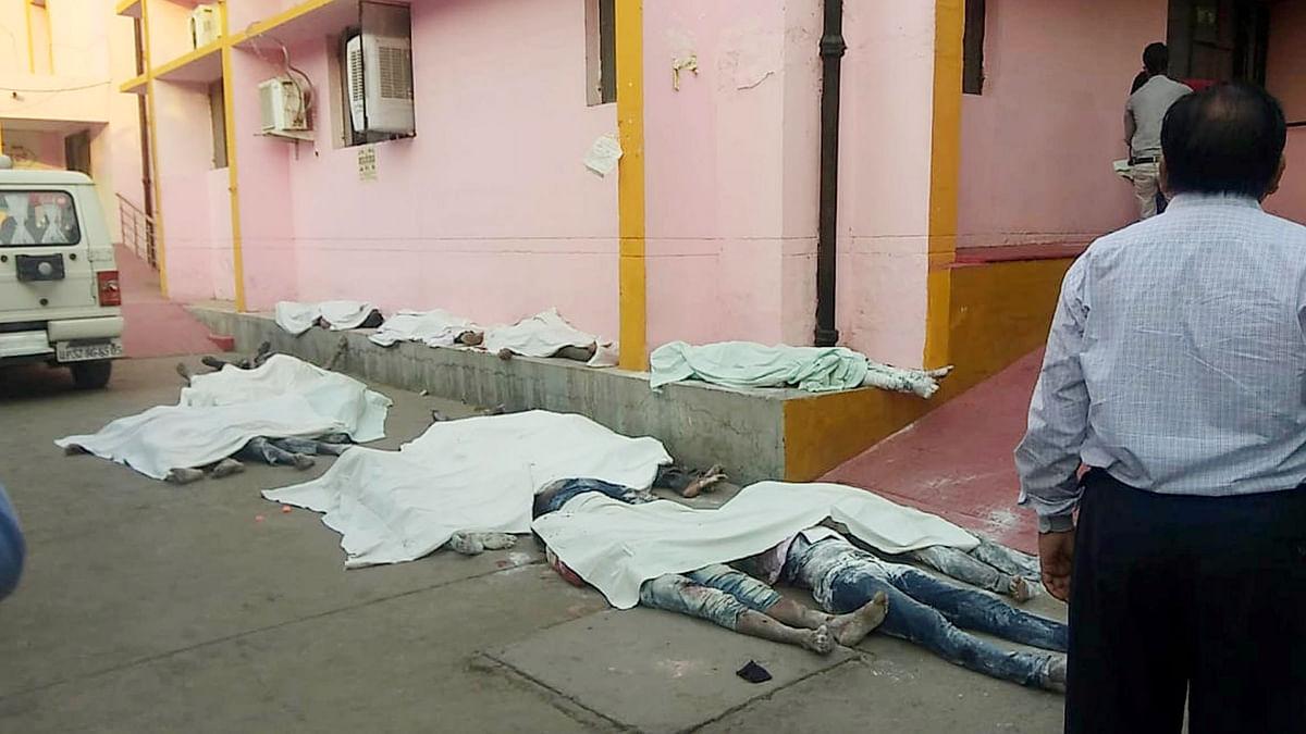 اوریا میں حادثہ نہیں قتل عام ہوا، استعفی دیں سی ایم یوگی: اجے کمار للو