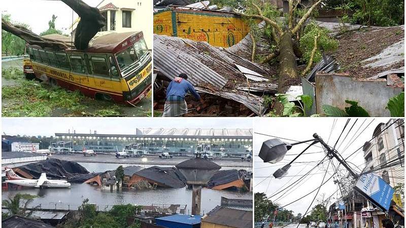بنگال میں امفان کے سبب بھاری تباہی، 72 افراد ہلاک