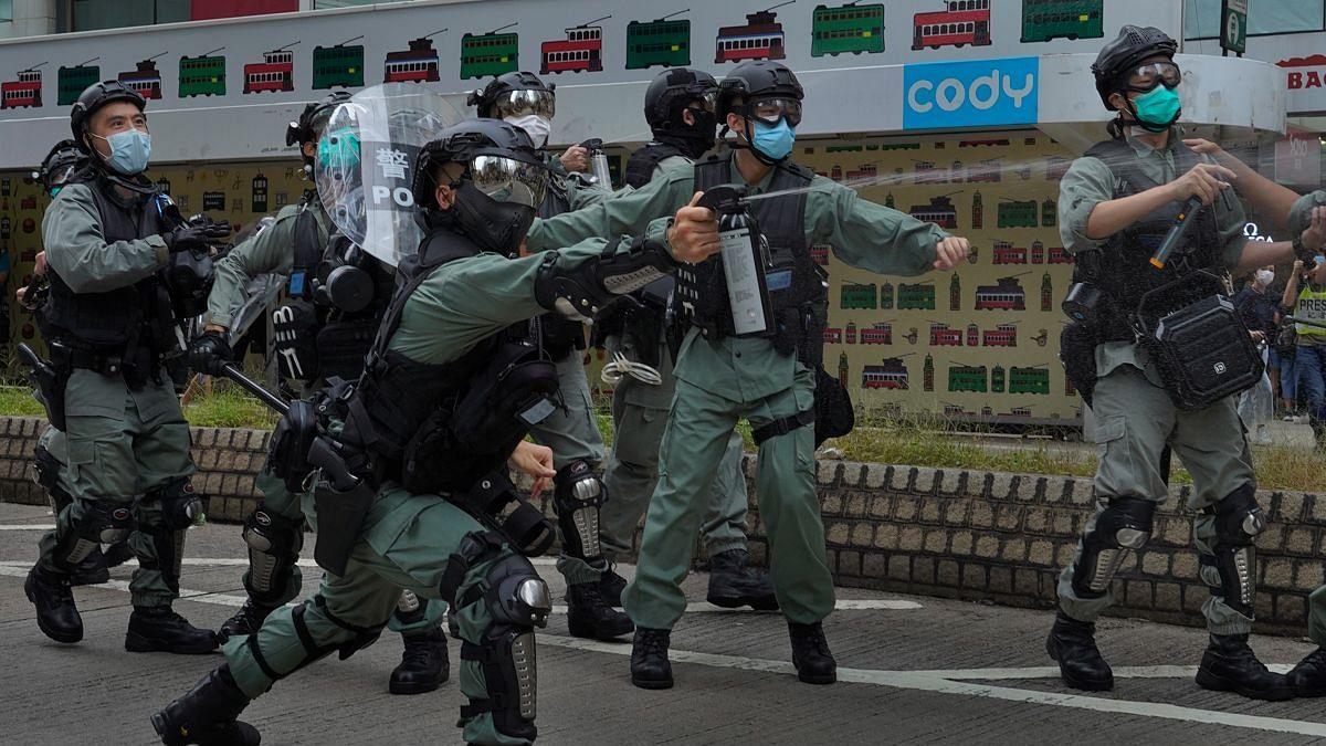 چینی پارلیمنٹ میں متنازعہ ہانگ کانگ سیکورٹی بل منظور