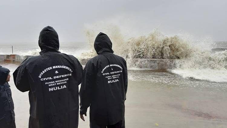 گردابی طوفان 'امفان' کا اتر پردیش پر کوئی اثر نہیں